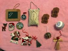 Christmas tree small ornaments Mixed Lot of 14