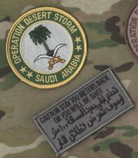 COLLECTOR'S DESERT STORM CAMEL DRIVER vel©®⚙ SET: Palm Tree + Stay back100 Meter