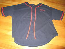 Hank Aaron Originals Embroidered Button-Down BOSTON RED SOX (XL) Jersey