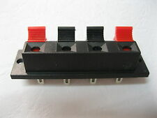 400 pcs 4 pin WP Push Type Terminal Speaker Board Connector 64.5mmx17.6mm WP4-7
