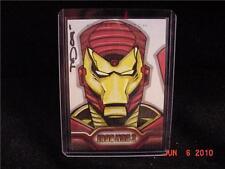 UD Iron Man 2 Artist Sketch Card 1/1 Clr Tod Smith /50