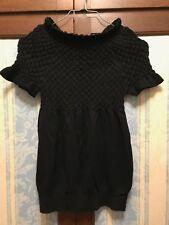 Just Woman maglione di lana colore nero Tg.S