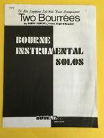 Two Bourrées, Henry Purcell, transcr. Sigurd Rascher, Alto Sax & Piano