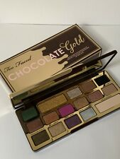 TOO FACED Metallic/Matte Eye Shadow Palette 16 Eye Shadows CHOCOLATE GOLD 14.8g