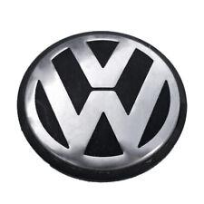 """OEM VW VOLKSWAGEN Black and Chrome Center Cap 2.5"""" 3B7601171"""