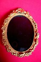 PICTURE FRAME ANTIQUE BRONZE GILT SMALL SHIPPING WORLDWIDE N2