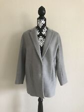 Ann Taylor Grey Wool Blend Coat Small Petite NWOT