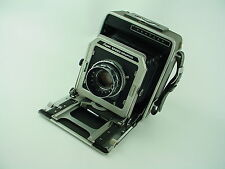 Graflex Super Speed Graphic 4x5 Large Format Camera w/ 135mm Optar - Works Great