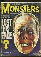 FAMOUS MONSTERS OF FILMLAND #16-40 FAIR / POOR 1960s LOT OF 12