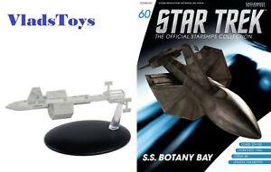 Eaglemoss Star Trek S.S. Botany Bay DY-100-Class Sleeper Ship w/Magazine #60
