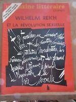 Magazine Littéraire N°74: Wilhelm Reich et la révolution sexuelle