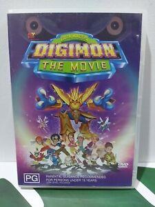 Digimon The Movie Rare R4 DVD - Animated Cartoon Anime Movie Free Post Tracking