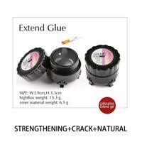 HOT 10/20Pcs Nail Art Non-woven Silk Fiberglass Gel Tips Extension Fiber Kit