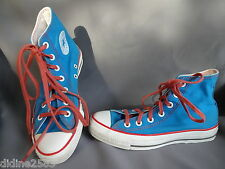 CONVERSE ALL STAR CHAUSSURE BASKET TURQUOISE ROUGE FEMME SNEAKERS pt 37.5 US 5