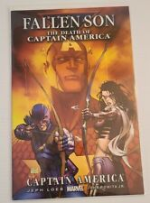 Marvel Comics Fallen Son: The Death Of Captain America Ch. 3 - Turner Cover