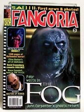"""FANGORIA"" Magazine Issue #247 (Oct, 2005) THE FOG, DOOM, SAW 2, THE WOODS"