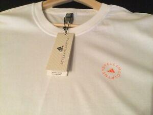 Adidas By  Stella McCartney Crew Neck T Shirt, White,  Size XL - New RRP £64.95