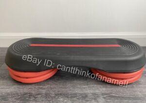 Adjustable Aerobic Smart Step + 4 Risers -Yoga Balance Board Les Mills Body Pump