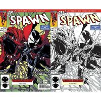 Spawn #231 Color & Sketch Variant Mexican Edition - Todd McFarlane!