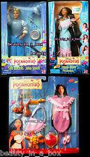 Shining Braids Pocahontas John Smith Sun Colors WINTER Dress N Play Disney Doll