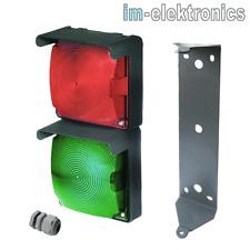 Led Señalización Rojo Verde 24V 230V Semáforo Puerta Accionamiento de Garaje