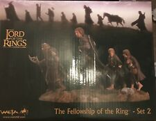 Lord Of The Rings - Fellowship Of The Rings Set 2 Polystone Statues