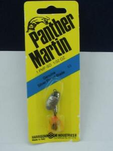 Panther Martin 1PMFSO 1/32 oz Feather Spinner Silver Orange 22442
