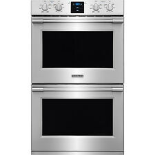 """Frigidaire Stainless PRO 30"""" Electric Double Wall Oven Convection FPET3077RF"""