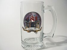 1996 Atlanta Olympics Glass Stein The Centennial Olympic Games 12 Ounces Mug