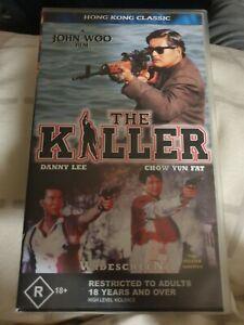 The Killer VHS John Woo Chow Yun Fat