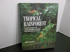 TROPICAL RAINFOREST  ARNOLD NEWMAN 1990 HARDCOVER SIGNED