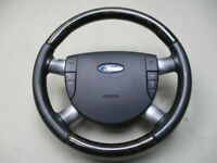Ford Mondeo III (B5Y) Volant Multifonction Tempomat Cuir Bois 3S713599D
