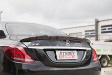 V1 Style Spoiler For 2015-2020 Mercedes-Benz W205 C-Class Sedan (CARBON FIBRE)