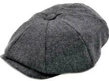 Peaky Blinders Children's Newsboy Hat Gatsby Cap Grey Baker Boy Kids 40% Wool