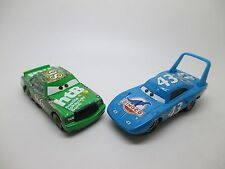 Disney Pixar Cars Lot 2 cars #43 King & #86 Chick Hicks Diecast No Box