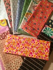 """Lot Of 10 New Cotton Fabric Eigth Yards-Scrap 9""""x21"""""""