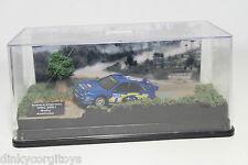 HACHETTE SUBARU IMPREZA WRC 2001 RALLY AUSTRALIA MINT BOXED .