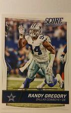 NFL Trading Card Randy Gregory Dallas Cowboys Score 2016 Panini