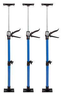 3x Türspanner Türfutterstrebe Türspreize 50-115cm Tür Zargenspanner 30kg Stahl