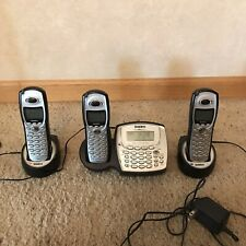 Uniden Powermax 5.8 Cordless Phone Set 3 Handsets, Answering Machine, 2 Bases