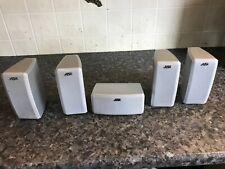 jvc surround sound satellite speakers x5 sp-xsa5