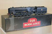 DJH MODELS KIT BUILT by 41C MODELS WEATHERED BR 2-10-0 CLASS 9F LOCO 92053 pmc