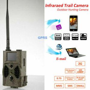 Wildkamera GPRS/MMS/SMS 16MP 940NM HC300M JagdKamera IR LED Wildtier Kamera M4I8