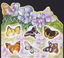 VANUATU - 2010 - Butterflies of Vanuatu. Sheet, 6v. Mint NH
