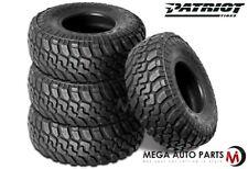 4 X New Patriot MT 37x13.50R20LT 10P 127Q All Terrain Mud Tires
