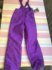 NWT Ossi Skiwear Purple Overalls Ski Suit Girls Large New With Tags