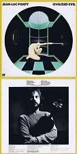 """Jean-Luc Ponty """"civilized Evil"""" opera di 1980! eccellente fusione Jazz! NUOVO CD"""