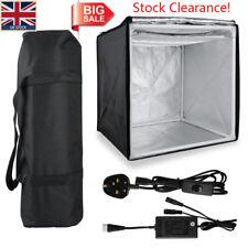 UK Hot 40CM Photo Studio Photography Kit Portable LED Light Room Box Cube Tent