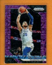 Ben Simmons 2018-19 Panini Prizm Fast Break Purple Prizms #219 /75