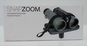 Snapzoom Universal Binocular Tripod Mount - BRAND NEW